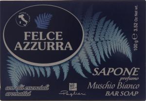Мило Muschio Bianco Felce Azzurra 100г