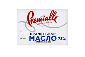 Масло 73% сладкосливочное Grand Classic Premialle м/у 180г
