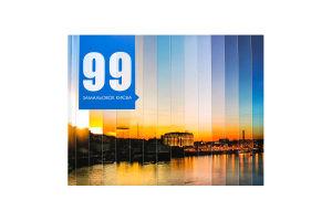 Книга 99 замальовок Києва КМ-Букс 1шт