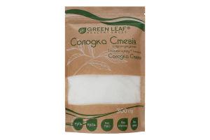 Стевія солодка з підсолоджувачем Green Leaf д/п 300г