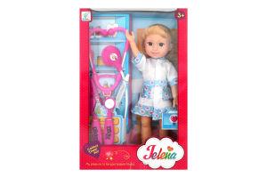 Іграшка лялька з набором лікаря арт.89008, 2 види, 35*23*8см