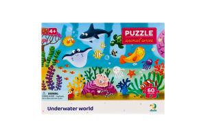 Пазл для детей от 4лет 32х23см №300378 Underwater world Animal series Dodo 60эл