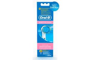 Насадка для электрической зубной щетки Sensitive Clean Oral-B 2шт