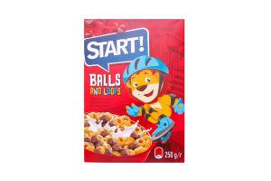 Завтраки сухие Шарики Ролики Start! к/у 250г