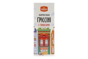 Палочки хлебные с томатами Гриссини Рум'янець к/у 125г