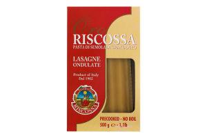 Макаронні вироби Лазанья 500г Ріскосс