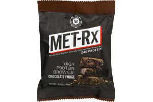 MET-Rx High Protein Brownie Chocolate Fudge