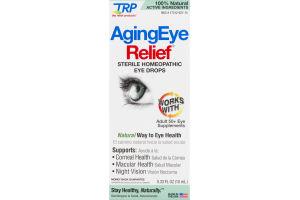TRP AgingEye Relief Sterile Homeopathic Eye Drops