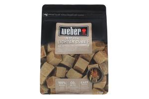 Кубики для розпалювання натуральні Weber 48шт