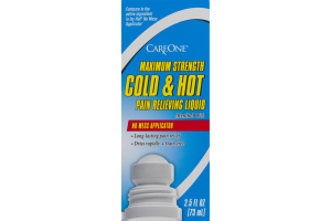 CareOne Maximum Strength Cold & Hot Pain Relieving Liquid