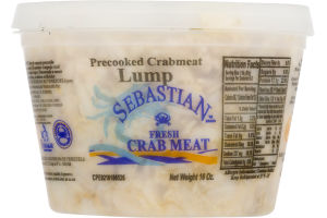 Lake Crab Fully Cooked Crab Meat Lump