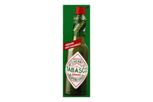 Соус перечний зелений Tabasco к/у 60мл