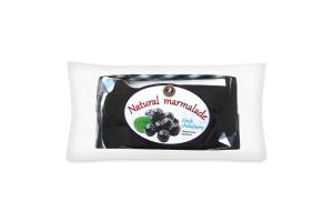 Черноплодная рябина, натуральный мармелад, 0,300кг