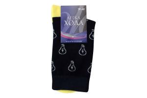 Шкарпетки чоловічі Легка хода №6345 25 маріне