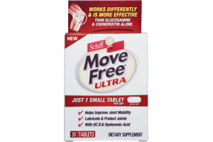 Schiff Move Free Ultra Dietary Supplement Tablets - 30 CT