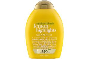 OGX Sunkissed Blonde Lemon Highlights Shampoo