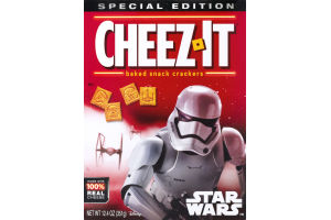 Cheez-It Star Wars Baked Snack Crackers