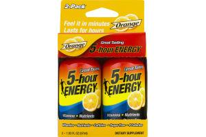 5-Hour Energy Dietary Supplement Orange - 2 CT