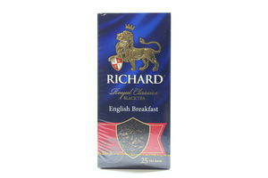 Чай черный English Breakfast Richard к/у 25х2г