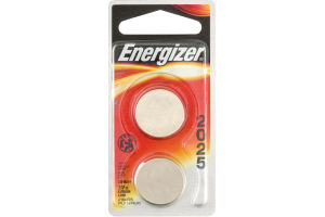 Energizer Lithium Batteries 2025 3V - 2 CT