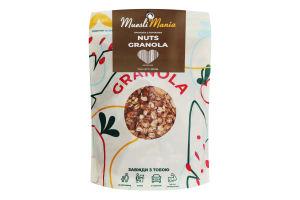 Сніданки сухі Гранола з горіхами Nuts Granola Muesli Mania д/п 350г