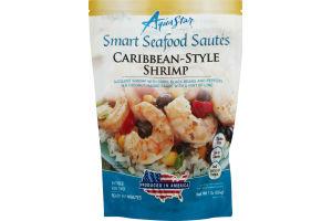Aqua Star Smart Seafood Sautes Caribbean-Style Shrimp
