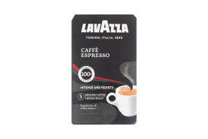 Кофе натуральный жареный молотый Espresso Lavazza к/у 250г