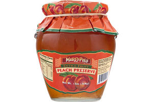 Marco Polo Extra Fruit Peach Preserve