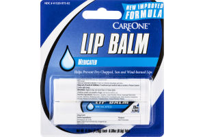 CareOne Lip Balm Medicated - 2 CT