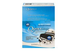 Quest Bar Protein Bar Cookies & Cream - 12 CT