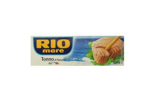 Тунець у власному соку Rio mare к/у 3х80г