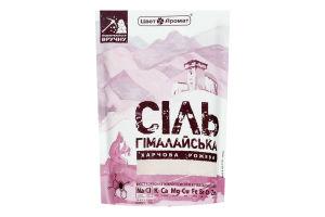 Сіль гімалайська харчова рожева ЦветАромат д/п 200г