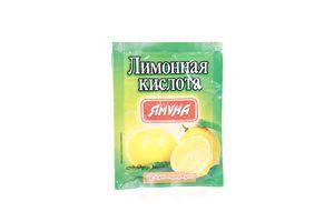 Лимонна кислота 20г Ямуна