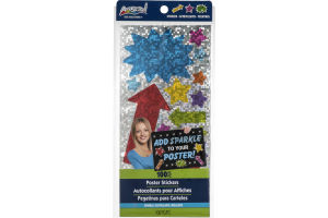 ArtSkills Poster Stickers Sparkle - 100 CT