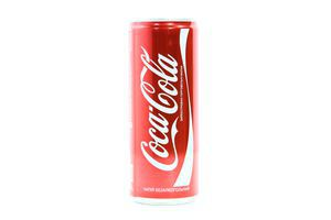 Напиток Coca-Cola сильногаз ж/б 0,25л