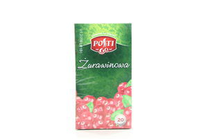 Чай плодово-ягодный Клюква Posti к/у 20х2г