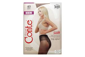 Колготки Conte Bikini 40den 4 Natural