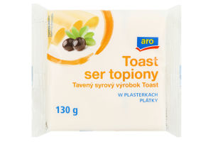 Сыр плавленый 36.2% Toast Aro м/у 8х16.25г