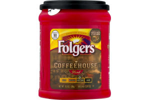 Folgers Coffeehouse Ground Coffee Med-Dark
