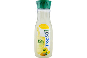 Tropicana Trop50 Juice Beverage 50% Less Sugar & Calories Lemonade
