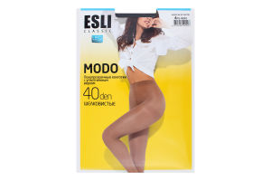 Колготки жіночі Esli Modo №8С-38СПЕ 40den 4-L nero