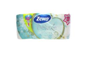 Туалетная бумага белая Zewa 8шт