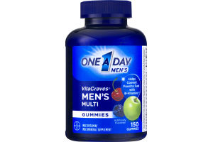One A Day VitaCraves Men's Multi Gummies - 150 CT