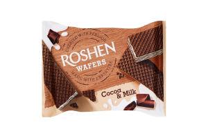 Вафли Какао-молоко Wafers Roshen м/у 72г