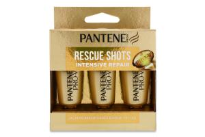 Засіб для догляду за волоссям Intensive Repair Rescue Shots Pro-V Pantene 3x15мл