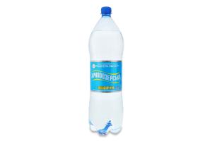 Вода минеральная природная столовая сильногазированная Кривоозерська п/бут 2л