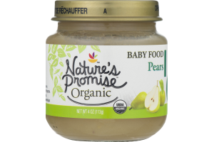 Nature's Promise Organic Baby Food Apple Pears 6m+