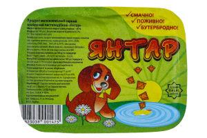 Продукт сырный 60% плавленый пастообразный Янтар 180гр