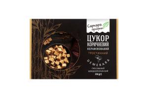 Сахар коричневый нерафинированный тростниковый порционный Demerara Саркара продукт к/у 250г