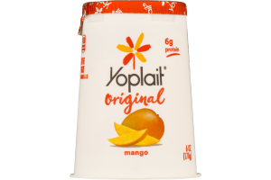 Yoplait Original Low Fat Yogurt Mango